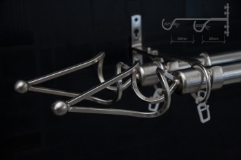 Garnišna - Dunja Srebro (dupla) - Ø25mm