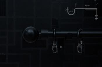 Teleskopska Garnišna - Lopta Crna